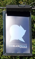 The Black Prince sign