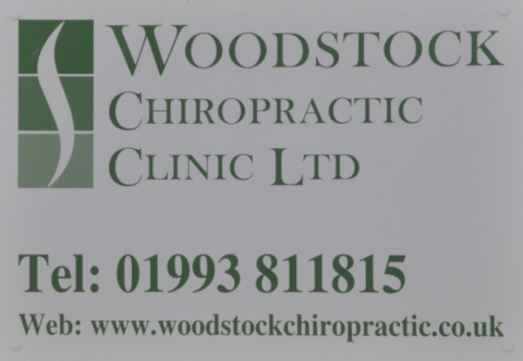Woodstock Chiropractic Clinic sign