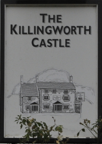 The Killingworth Castle sign