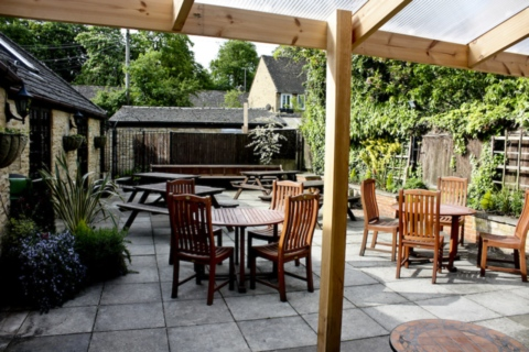 The Kings Head garden