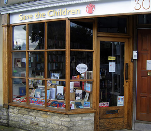 Save the Children Book Shop